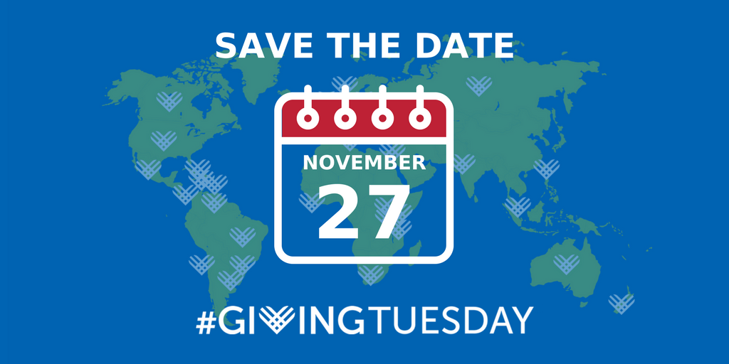 Giving Tuesday- November 27, 2019