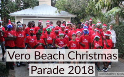 Crossover at the 2018 Vero Beach Christmas Parade