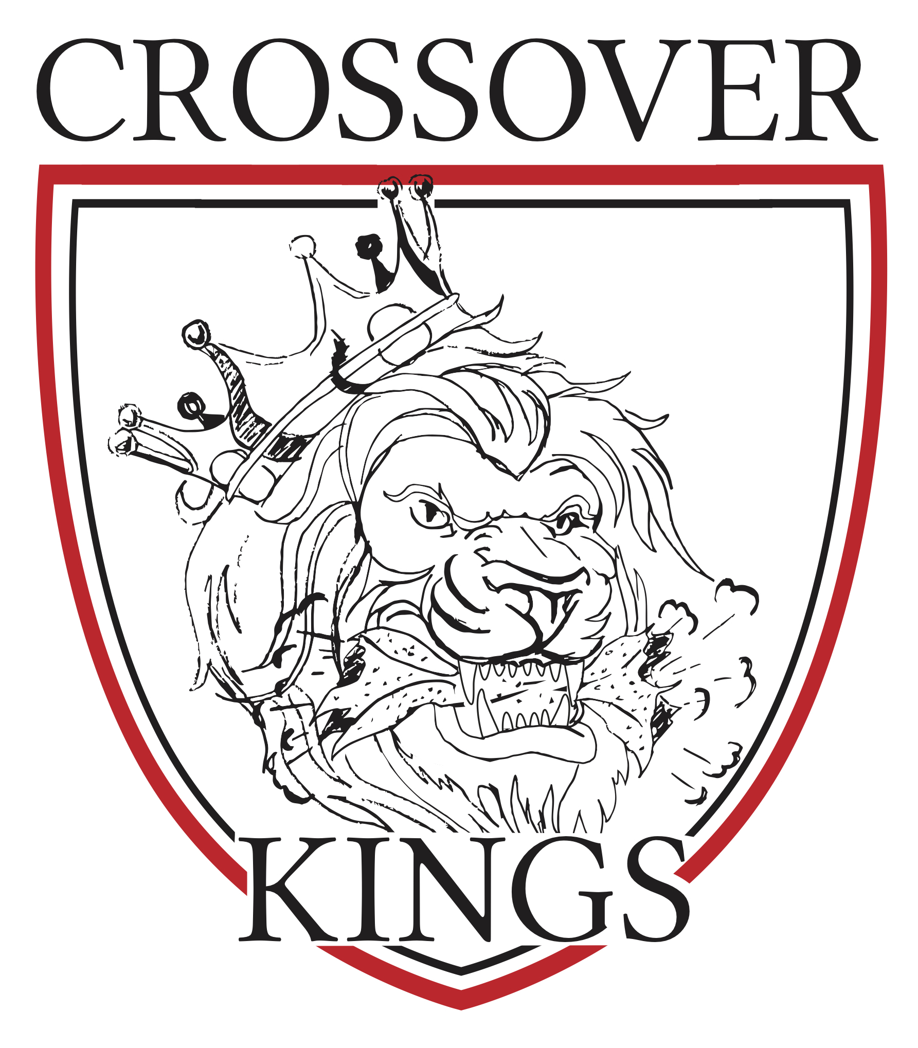 Crossover Kings AAU Team Logo